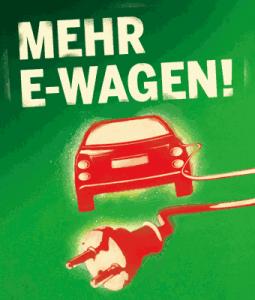 Mehr E-Wagen!